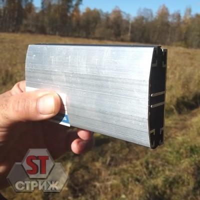 Алюминиевая нижняя прижимная планка