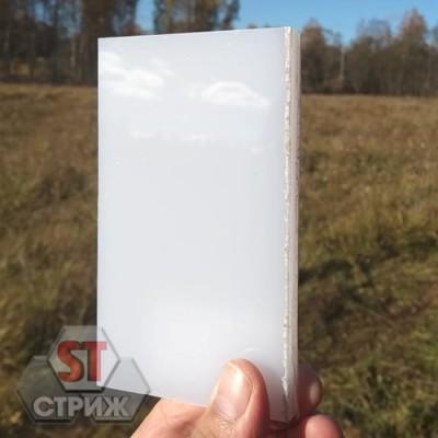 Монолитный поликарбонат 10 мм белый (молочный)