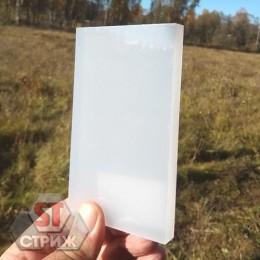Монолитный поликарбонат 12 мм белый (молочный)