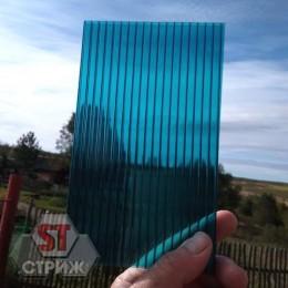 Сотовый поликарбонат 8 мм бирюза