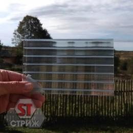 Сотовый поликарбонат 20 мм прозрачный