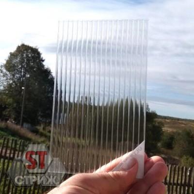 Сотовый поликарбонат премиум ROYALPLAST 6 мм прозрачный