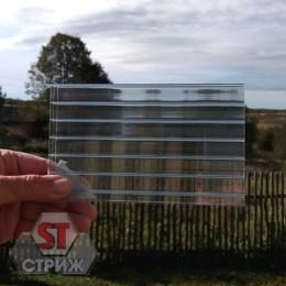 Сотовый поликарбонат 16 мм прозрачный