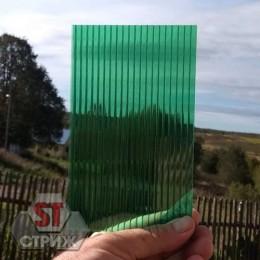 Сотовый поликарбонат 16 мм зеленый