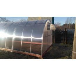Теплица стандартная усиленная 3 х 4 с поликарбонатом толщиной 6 мм