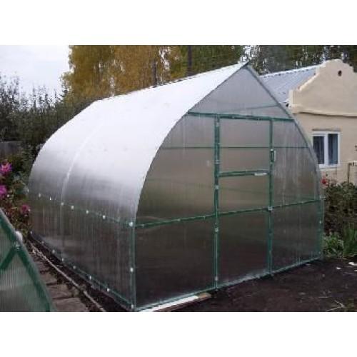 Теплица «Капля» 3 х 4 с поликарбонатом толщиной 4 мм (Премиум)