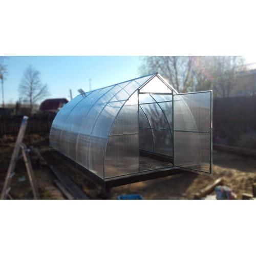 Теплица «Капля» 3 х 4 с поликарбонатом толщиной 3,5 мм